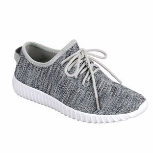 Shoes - Right to Relax Gray Sneakers