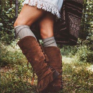 naughty monkey Shoes - 😍Naughty Monkey Fringe Tassel Boots 😍