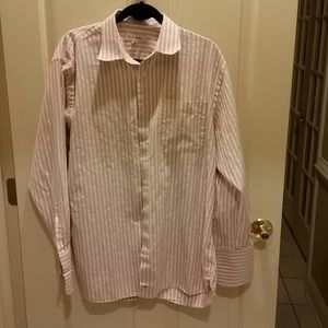 John W. Nordstrom Other - John W. NORDSTROM PINK AND WHITE STRIPED SHIRT