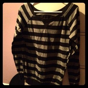 Rue21 Tops - Striped black top
