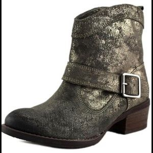 naughty monkey Shoes - NAUGHTY MONKEY Metalicah Leather Ankle Boots SALE
