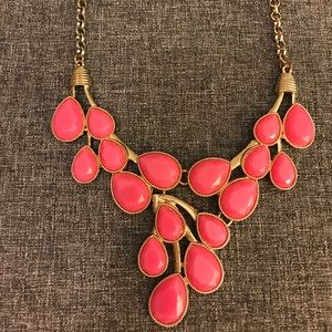 Bauble Bar Jewelry - Pink and gold necklace
