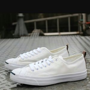 Converse Other - Converse Jack Purcell White Canvas Camo Lunarlon