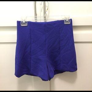 bebe Pants - Knit High Waisted Shorts