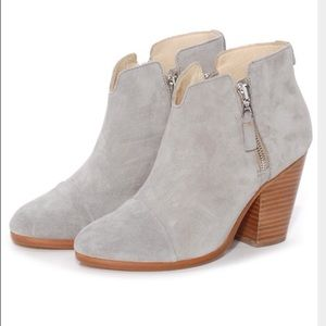 Rag and Bone Margot light Grey booties