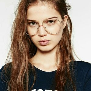 e91318649ff6 Zara Accessories | Trendy Clear Glasses | Poshmark