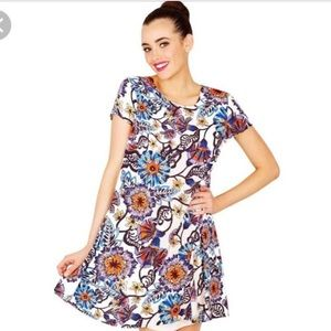 Betsey Johnson graceful gardens dress 