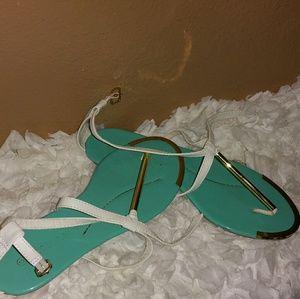 10 Crosby Derek Lam Shoes - Tri color sandals