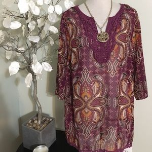 East 5th Tops - EAST 5th PLUS SIZE TUNIC
