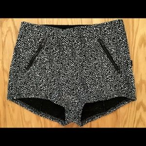 URBAN OUTFITTERS Tweed High Waist Hot Shorts 0