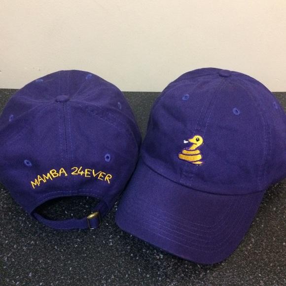 91d36851f198f Mamba 24 Ever Kobe Bryant Adjustable Dad Cap - Hat