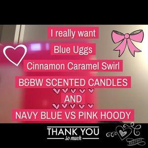 My wants