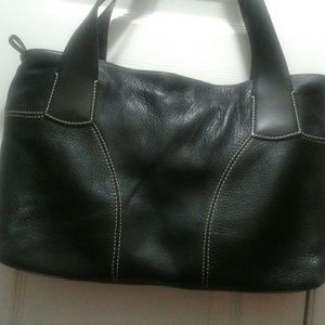 Giorgio Brutini Handbags - Black leather genoudi