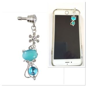 Crystal IPhone Earphone Plug