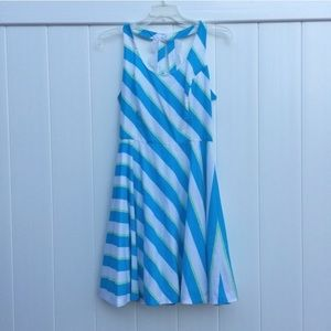 Lilly Pulitzer Dresses & Skirts - NWT Lilly Pulitzer Zo Turquoise Roper Stripe Dress