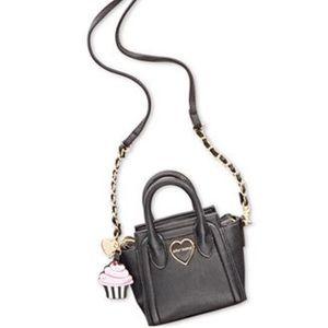 Betsey Johnson Handbags - Betsey Johnson mini cross body cupcake satchel