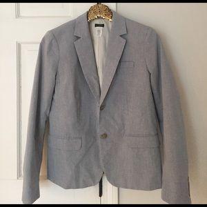 J. Crew Factory Cotton Blazer. EUC. Size 6.