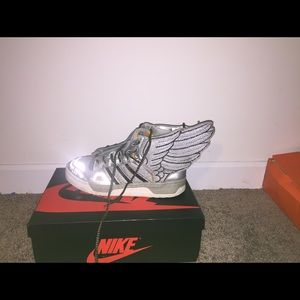 Jeremy Scott x Adidas Other - Silver Jeremy Scott Foil Wings