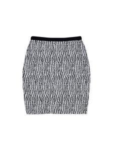 Reiss- Black & White Abstract Print Skirt Sz 10
