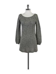 Vince- Grey Knit Sweater Dress Sz XS