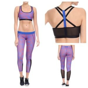 2xist Other - 2(X)IST Sports Bra and Leggings in Cobalt Swirl