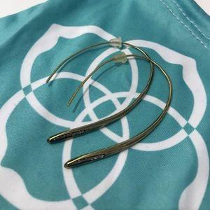 Kendra Scott Julian Threader Earrings in Brass