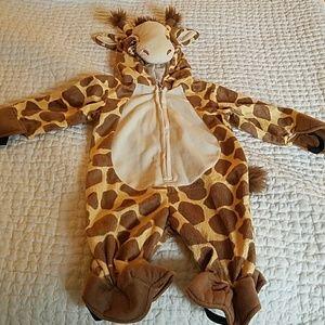 Giraffe Costume 6 Months