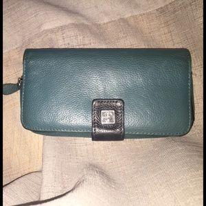 Giani Bernini Other - Green Leather Wallet