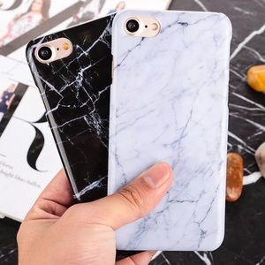 Accessories - WHITE GLOSSY MARBLE IPHONE 7 PLUS LUXURIOUS CASE