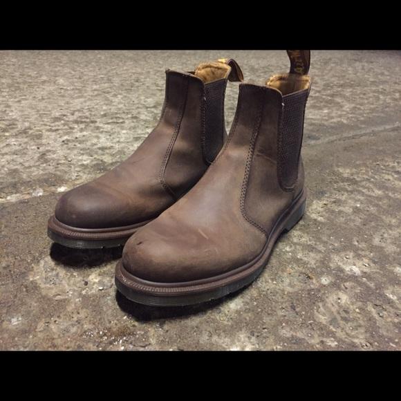 Dr. Martens Shoes - Dr. Martens 2976 Crazy Horse Chelsea Boots Size  9 c754187b9
