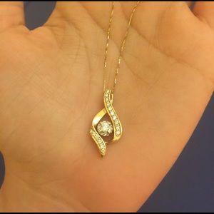 Zales Jewelry - Beautiful Gold diamond necklace