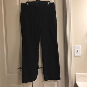 J. Crew Pants - Size 10 short J. Crew city fit black slacks