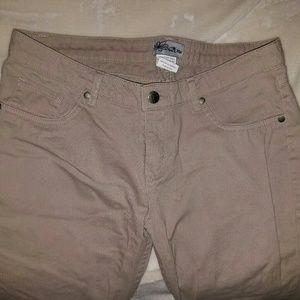 Khaki jeans size 7