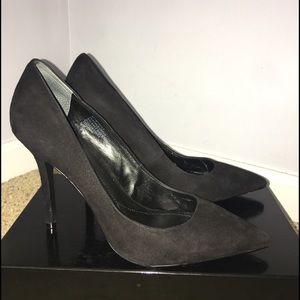 Boutique 9 Black Suede Heels