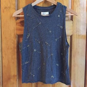 Abercrombie & Fitch Tops - Abercrombie & Fitch Beaded Tank Top LIKE NEW