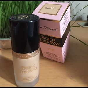 Other - Too Faced Born This Way Foundation in Porcelain