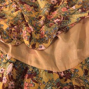 umgee Dresses - NWT ⬇️ boho dress /layers & adjustable draw string
