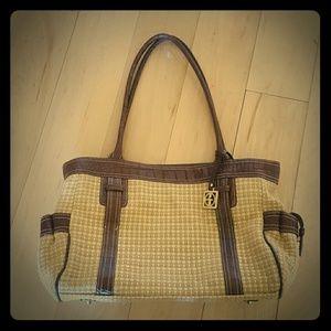 Giani Berini Knitted Beige Bag