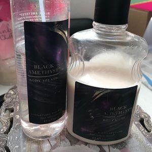 Black amethyst spray and lotion