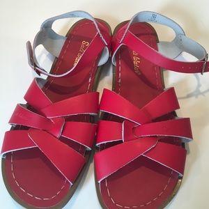 Salt Water Sandals by Hoy Shoes - SALT WATER women's red original Sandal•7•Classsic