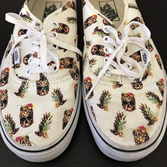 46ba0a266e2fa9 Pineapple Vans Shoes - Shoes Collections