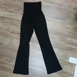 A Pea in the Pod Pants - Pea in the Pod XS stretchy flare leg career pants