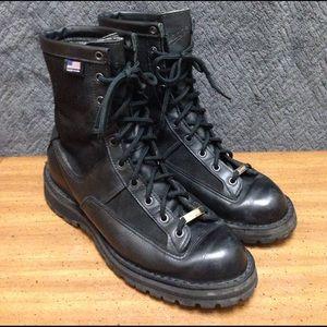 "Danner Other - Danner Acadia 8"" Black Leather/Gor-Tex Work Boot"