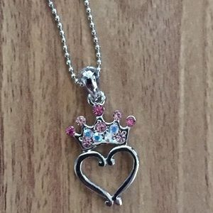 Cookie Lee Other - Kids Cookie Lee Princess Heart Necklace