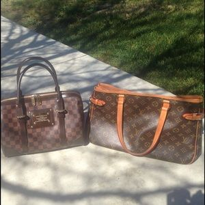 Louis Vuitton Handbags - 2 bags - need to clean my closet