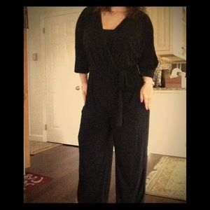 Soho Apparel Pants - Stunning Black Jumpsuit