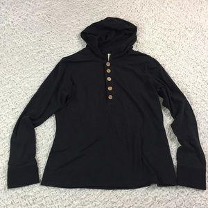 Soybu Tops - Soybu bamboo lightweight yoga hoodie XL