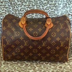 Louis Vuitton Handbags - Authentic Louis Vuitton Speedy 30 Handbag
