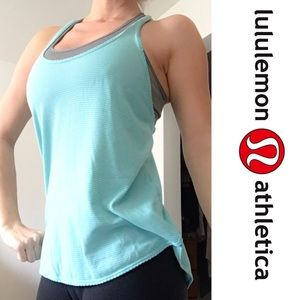 lululemon athletica Tops - 🌿Lululemon Mint Racerback Tank🌿
