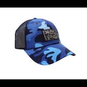 Polo by Ralph Lauren Other - Polo RL Blue Camo Truckers Cap